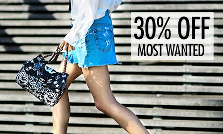 30% Off Most Wanted