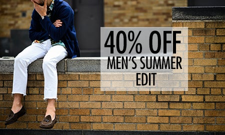 40% Off Men's Summer Edit