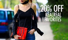 20% Off RealReal Favorites