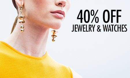 40% Off Summer Favorites: Jewelry & Watches