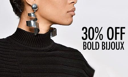 30% Off Bold Bijoux