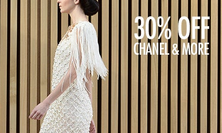 30% Off Chanel, Dior & More