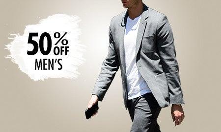 50% Off Men's