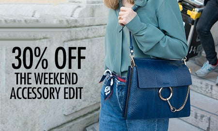 30% Off The Weekend Accessory Edit