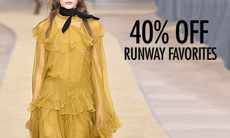 40% Off From The Runway Favorites