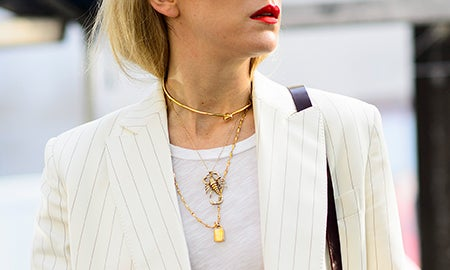 How To Stack Your Jewelry Like The Street Style Set