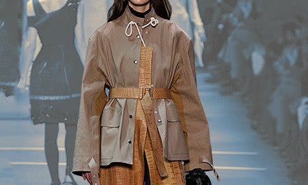 Runway Alert: How To Get Fall's Mixed Texture Trend