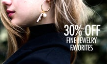 30% Off Fine Jewelry Favorites