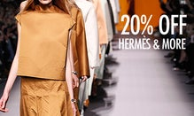 20% Off Hermès, Céline & More