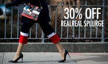 30% Off RealReal Splurge
