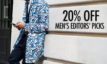20% Off Men's Editors' Picks