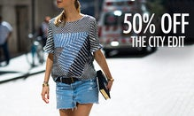 50% Off The City Edit