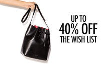 40% Off The Weekend Wish List
