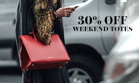 30% Off Weekend-Ready Totes